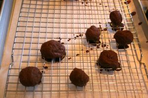 Place Candy on Cooling Rack