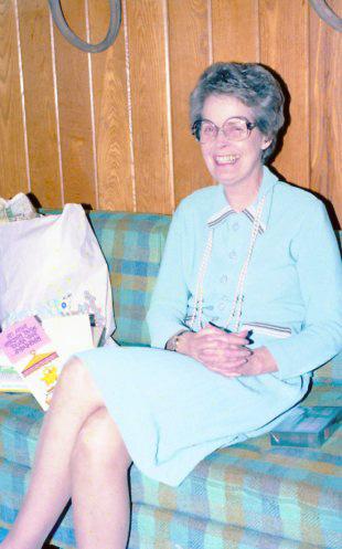 Wanda Cowart Ebersole April 1982