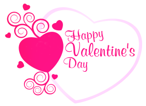 Happy_Valentines_Pink_Heart_Decor_PNG_Picture